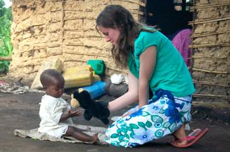 Hannah in Kamwenge