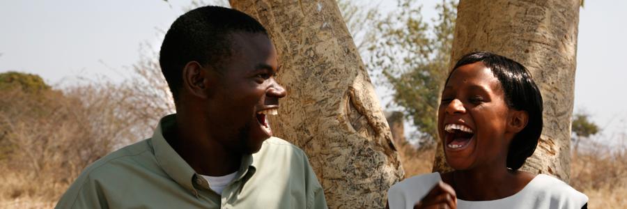 Zambian Teachers laughing